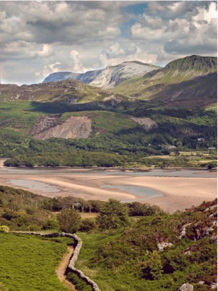 Cadair Idris and the Mawddach Estuary, photo by Tony Boydon