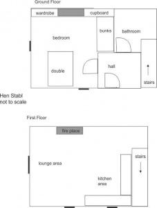 Floor plan Hen Stabl