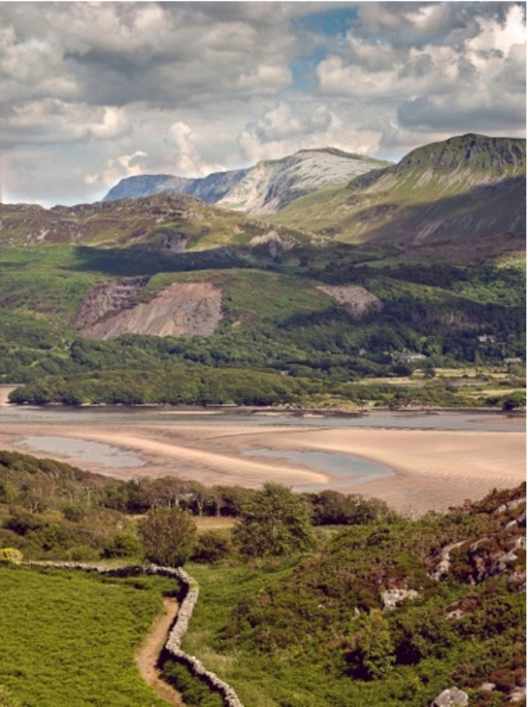 Cadair Idris and the Mawddach Estuary, photo by Tony Boydon